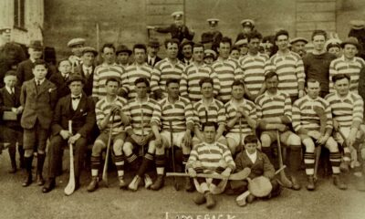 GAA commemorative jersey marks the centenary of the county's 1921 All-Ireland win. Pictured above is the Limerick team that won the 1921 GAA Hurling All-Ireland title