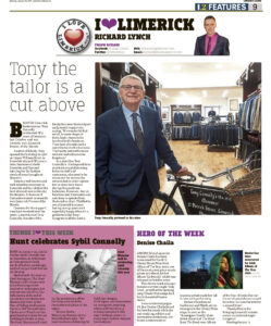 The Leader Column January 30 2020 - Tony the tailor is cut above