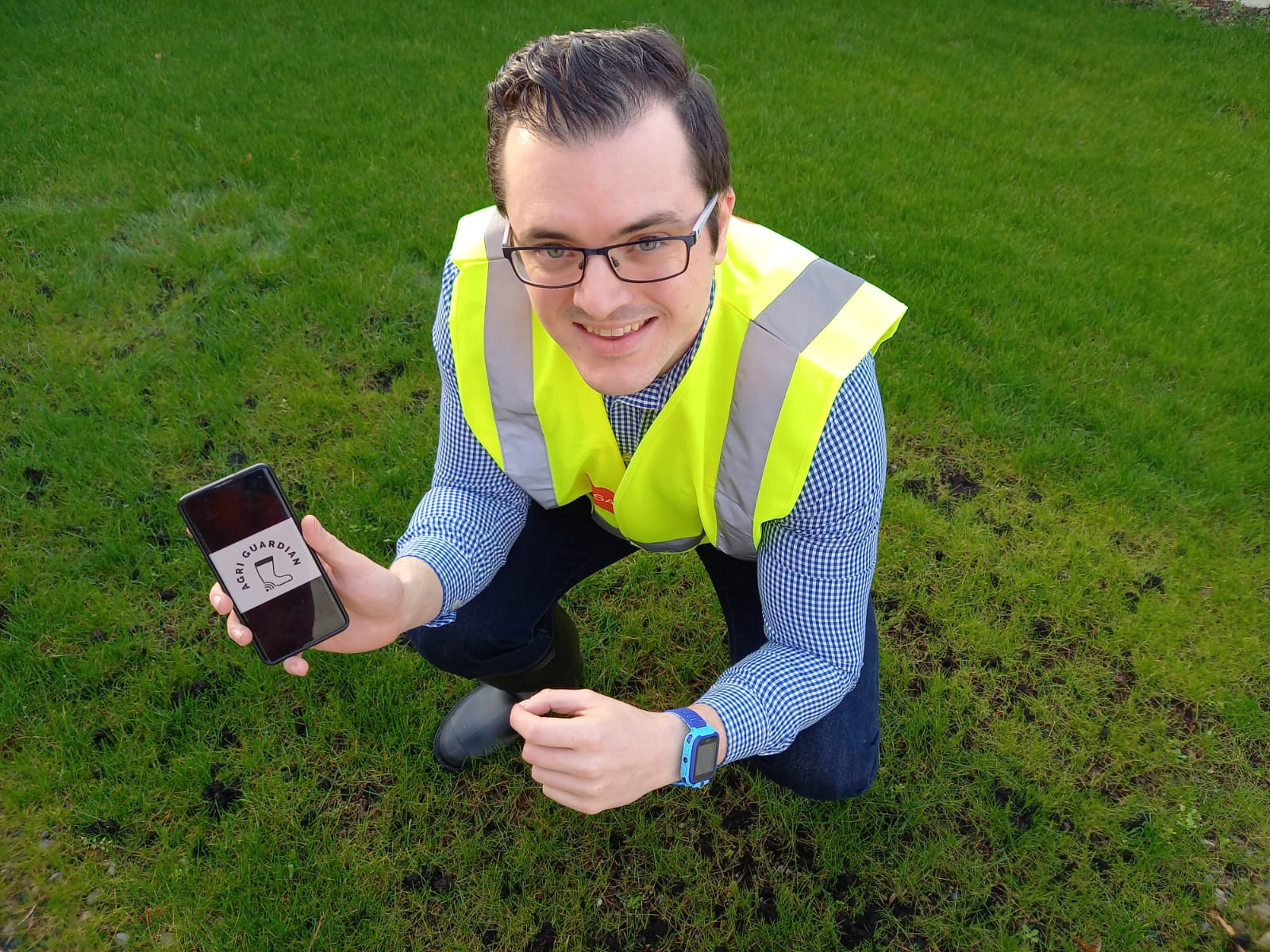 New Frontiers Awards 2021 - James Power, Founder of Agri Guardian pictured above is one to watch