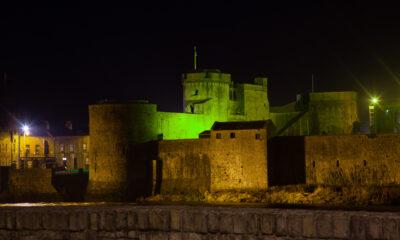 Limerick landmarks go green
