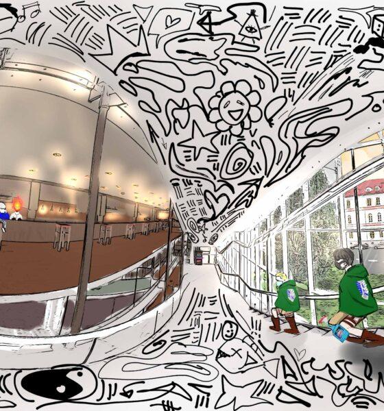 Diggin Opera II will broadcast on Sunday, April 25. Drawing by Chloe Woo