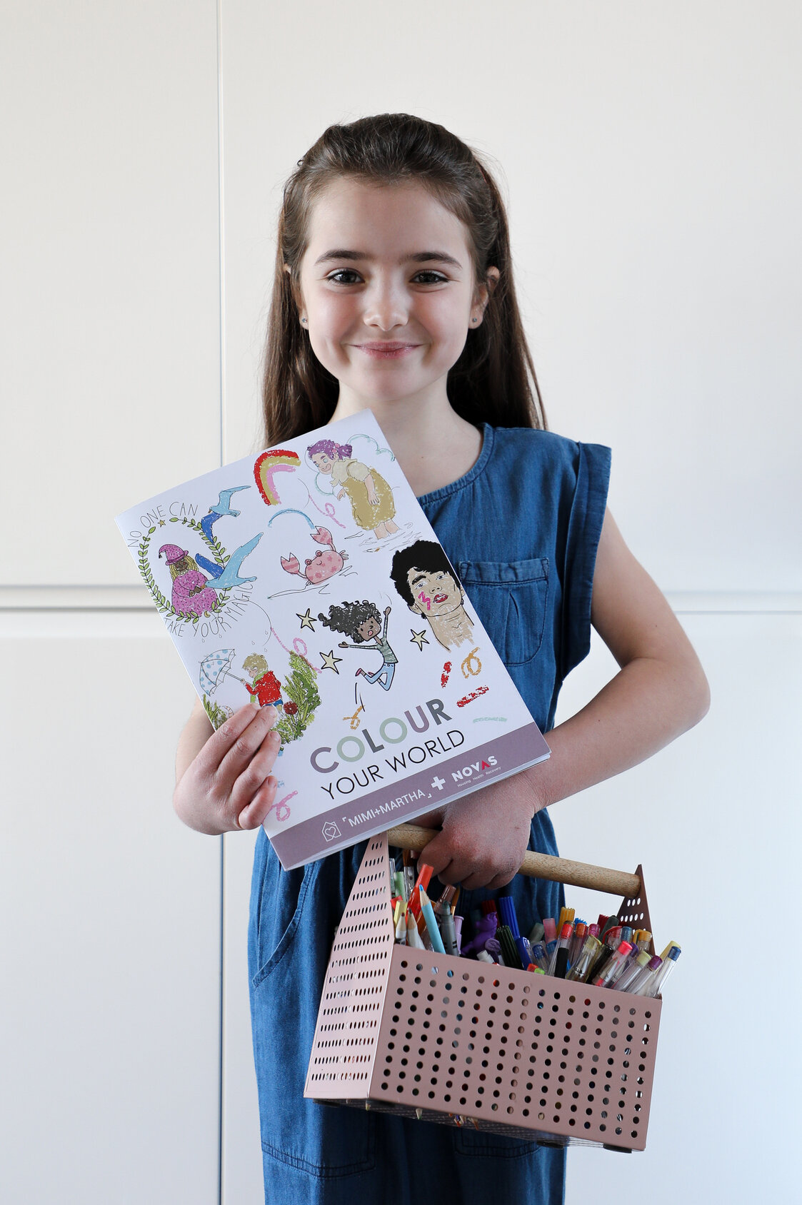 Colour Your World Illustration book