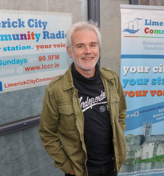 DJ Eric Fitzgerald pictured above at Limerick City Community Radio. Picture: Dylan Frawley/ilovelimerick