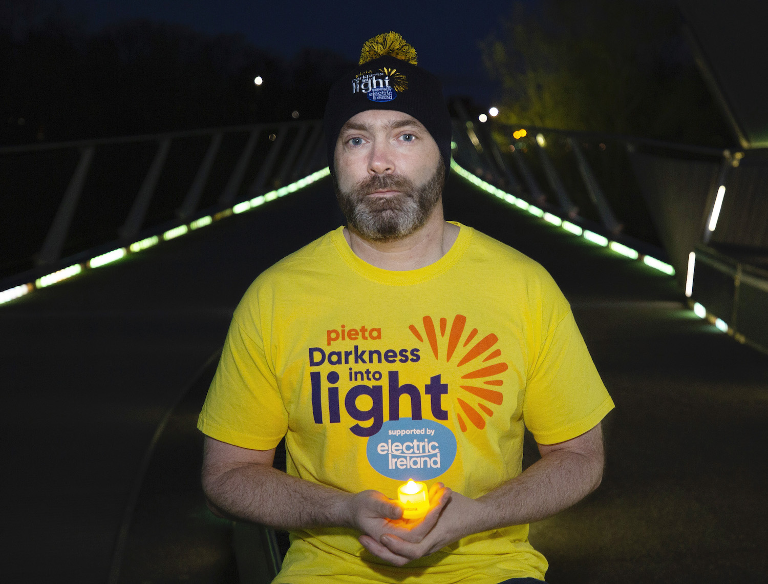 Darkness into Light Limerick 2021 - Author Donal Ryan is one of this years ambassadors