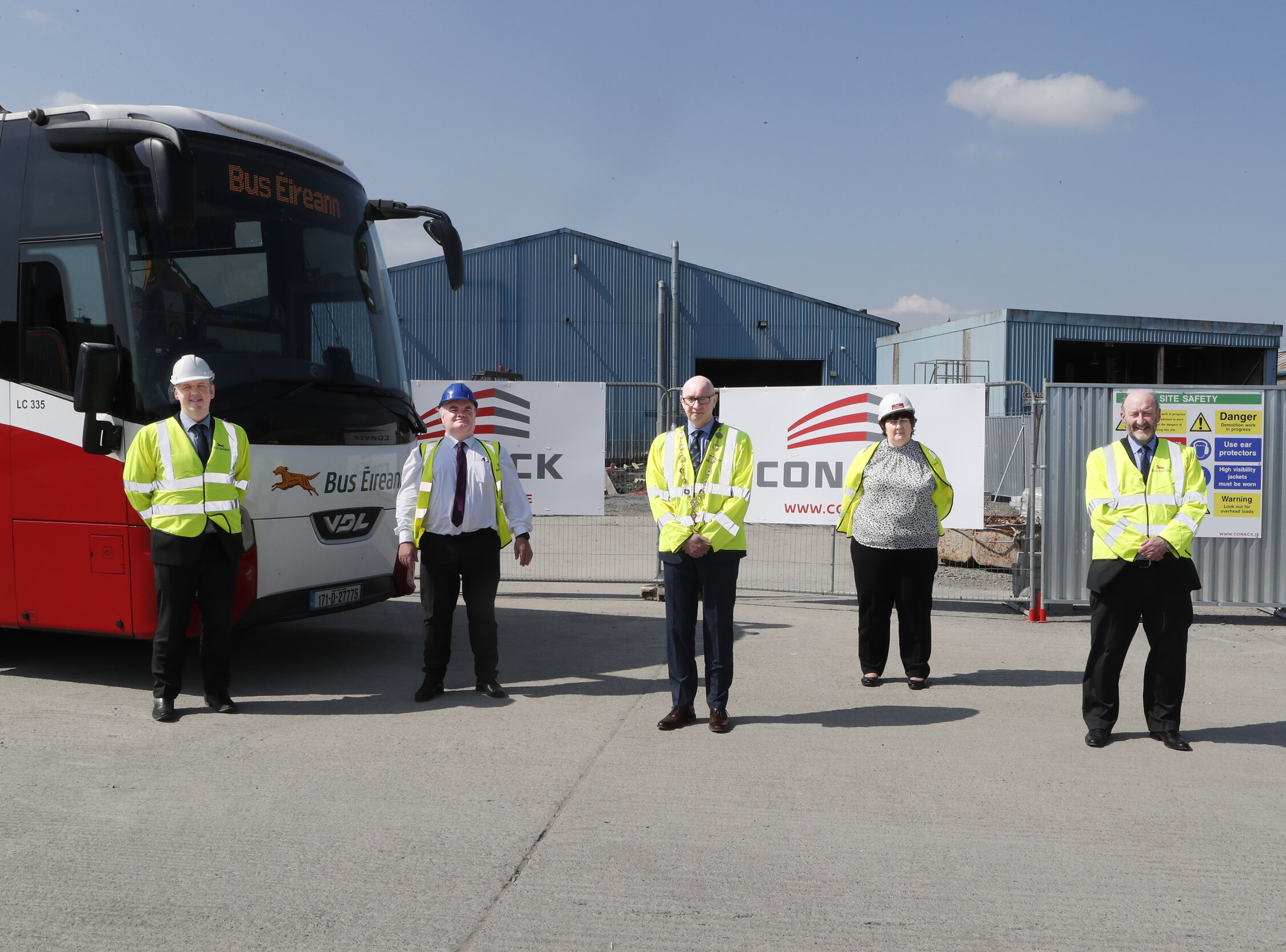 Bus Éireann, has announced the commencement of its redevelopment of Roxboro bus depot pictured above and maintenance facility at Roxboro Road