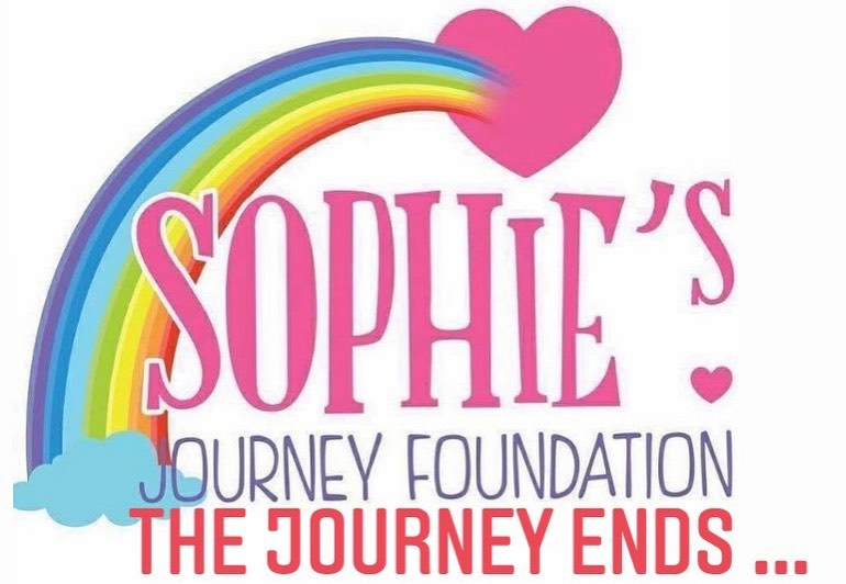 After an incredible journey of hard work and fundraising, Sophies Journey Foundation will reach the end of the road this year.
