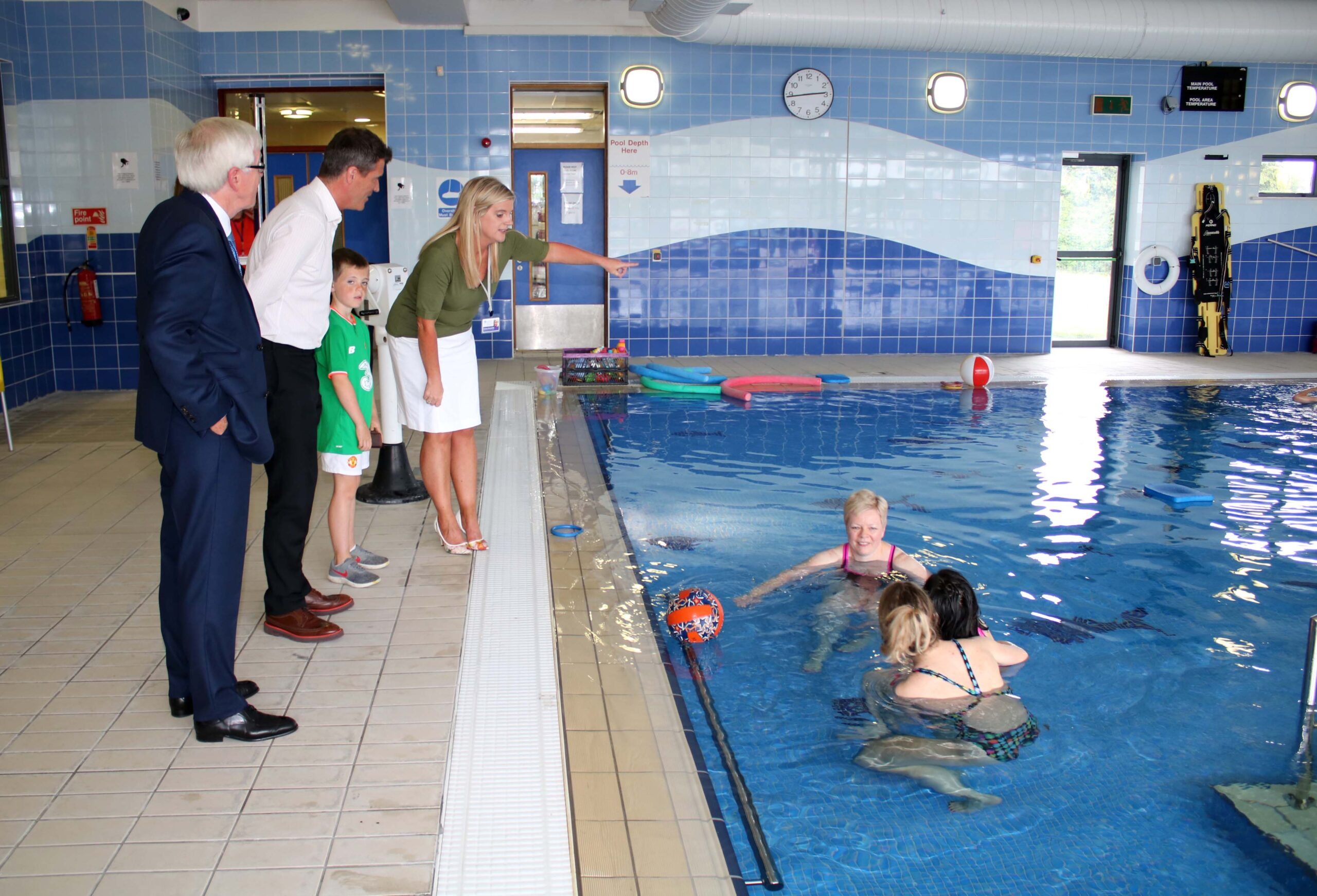 In 2009 St Gabriels opened a new Hydrotherapy Pool, largely in thanks to the philanthropic efforts of JP McManus and the fundraising efforts of the community in Limerick.