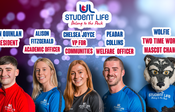 UL Student Life Officers (pictured above) will match the amount donated to this year's chosen charities Irish Community Rapid Response and Irish Red Cross.