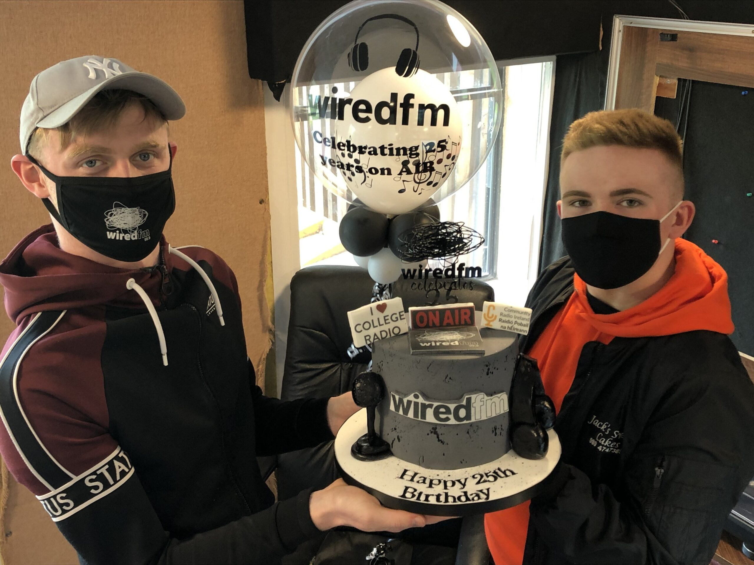 Wired FM 25th Anniversary – Wired FM, located at Mary Immaculate College (MIC) and Limerick Institute of Technology (LIT), celebrates its 25 years on air today
