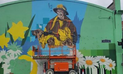 Dodo Reddan Mural commemorates the kind-hearted loved woman she was