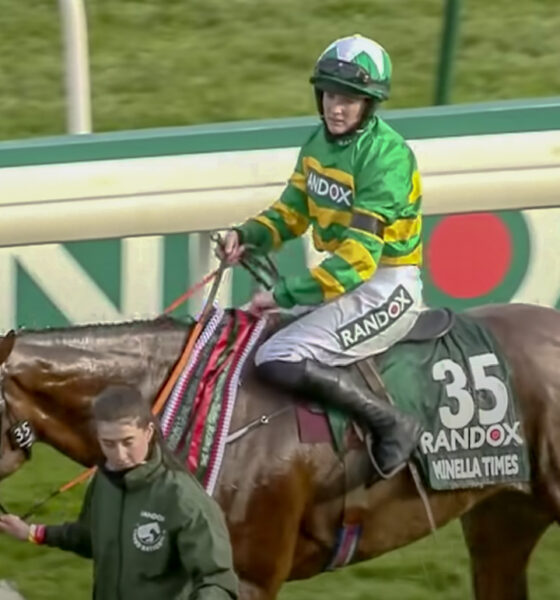 Rachael Blackmore pictured above created history over the weekend by becoming the first woman to win the Grand National