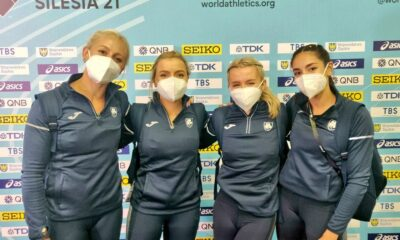 Athlete Sarah Lavin and the Irish 4x100m women's team finished fourth in their heat at the World Athletics Relays in Silesia21, Poland.