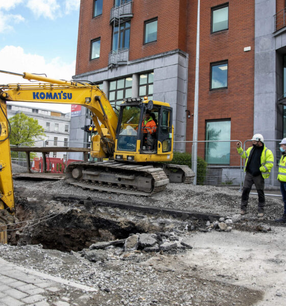 Opera Site demolition works recommence as Limerick 2030, Cogent Associates and John Sysk & Son Ltd continue their works on the biggest commercial property development ever in Limerick.
