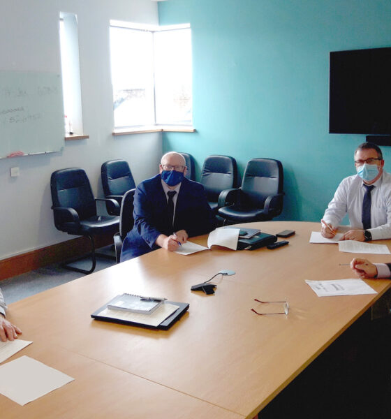 Green Digital Jobs Strategy - Signatories of the MoU pictured above are Pat Slattery (Director of Community and Economic Development, Tipperary County Council), Liam Conneally (Director of Economic Development, Clare County Council), Vincent Murray (Director of Economic Development, Limerick City and County Council), Eamonn Murphy (Chair Mid-West Regional Enterprise Plan).