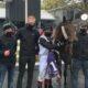 Jockey Wesley Joyce records his first win at 50/1