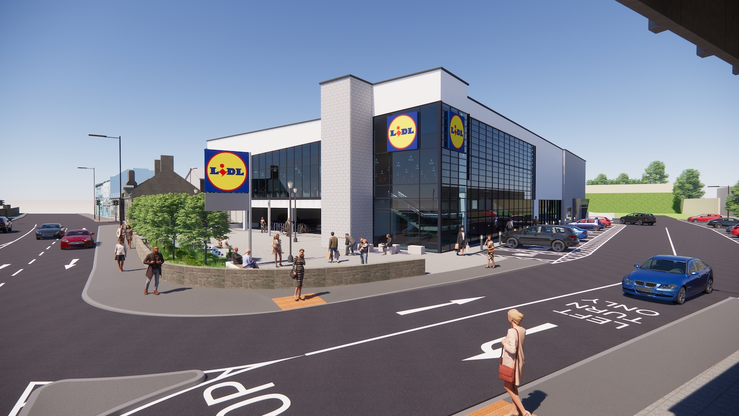Lidl Dock Road Store would create 30 new local permanent jobs as well as many more during the construction phase.