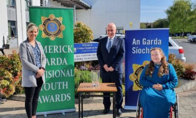 Limerick Garda Youth Awards 2020 – Amy Mulcahy (pictured above) was one of the four Individual Garda Youth Award Winners