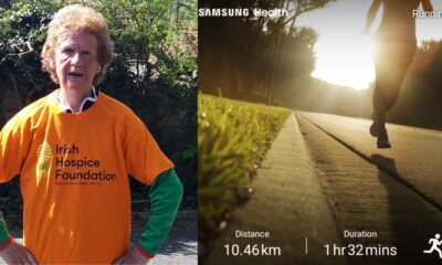 Mary Cronin completed 10km for Irish Hospice Foundation last weekend raising over €1,240