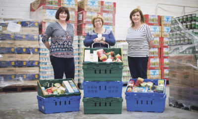 Midwest Simon Community social grocery to be the first in Ireland - Pictured above are Jackie Bonfield, Tracey Reddy and Audrey Irwin at the Midwest Simon food bank. Picture: Julien Behal