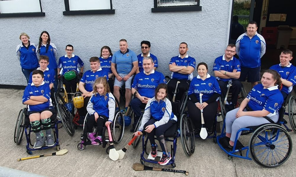 Munster Wheelchair Hurling Camogie Club have launched their 'Making Miles Matter' initiative, to raise funds for their club to ensure a safe return to their sport.