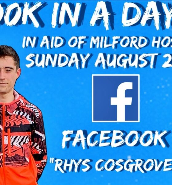 Rhys Cosgrove will be doing the challenge on August 22 for Milford Care Centre.