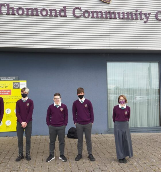 Thomond CC students - Local Limerick Businesses stepped in to help Thomond Community College youths acquire the work experience they deserve from their own homes!