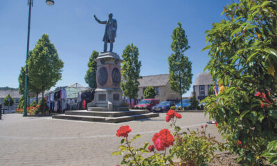 Town Village Renewal Scheme 2021 - The Rev William Casey memorial in Abbeyfeale pictured above. Picture: Cian Reinhardt.