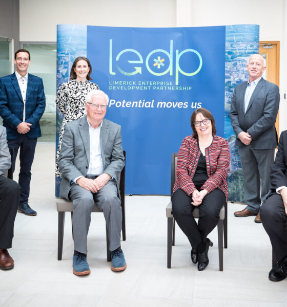 20 Outcomes by 2026 - Pictured above are Chief Executive Niall O'Callaghan and Board members Ms. Aoife Duke, Limerick City & County Council, Mr. Michael Tiernan, Limerick Enterprise Network, Ms. Elaine Mac Grath, PAUL Partnership, Mr. John Gilmartin, The Diocese of Limerick, Mr. PG Boland (Chairman), Ms. Mary O'Donovan, Consultant and Non-Executive Director and Mr. Kieran Hodnett, Professor Emeritus University of Limerick.