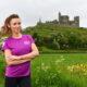 2021 Vhi Virtual Womens Mini Marathon - Musician and radio presenter Una Healy, pictured at the Rock of Cashel in Tipperary. Picture: Diarmuid Greene/Sportsfile