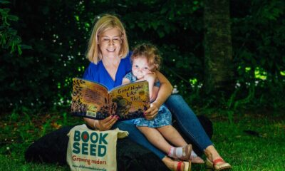 Bookseed baby bookgifting project - Lana Gaughan (age 3) with her mam Cara pictured at the re-launch of the Bookseed baby bookgifting project in Limerick. Picture: Brian Arthur.