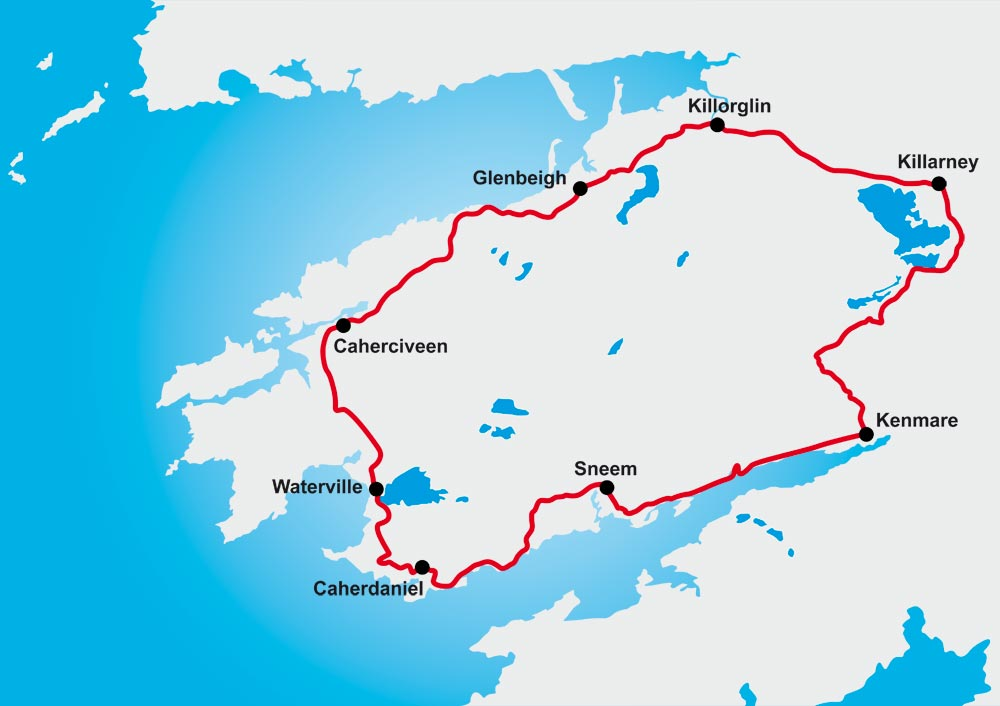 Colm Cussen will cycle the Ring of Kerry which is 179 km route around County Kerry