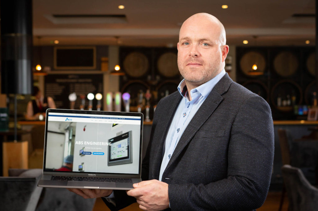 Colm Cussen (pictured above) is the Managing Director at ABS Engineering Control Systems Ltd.