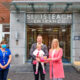 Mark & Lisa Blennerhassett with baby Ella at the maternity hospital pictured with Professor Roy Philip, Denise Dempsey CMM1, Deirdre O' Connell CMM3