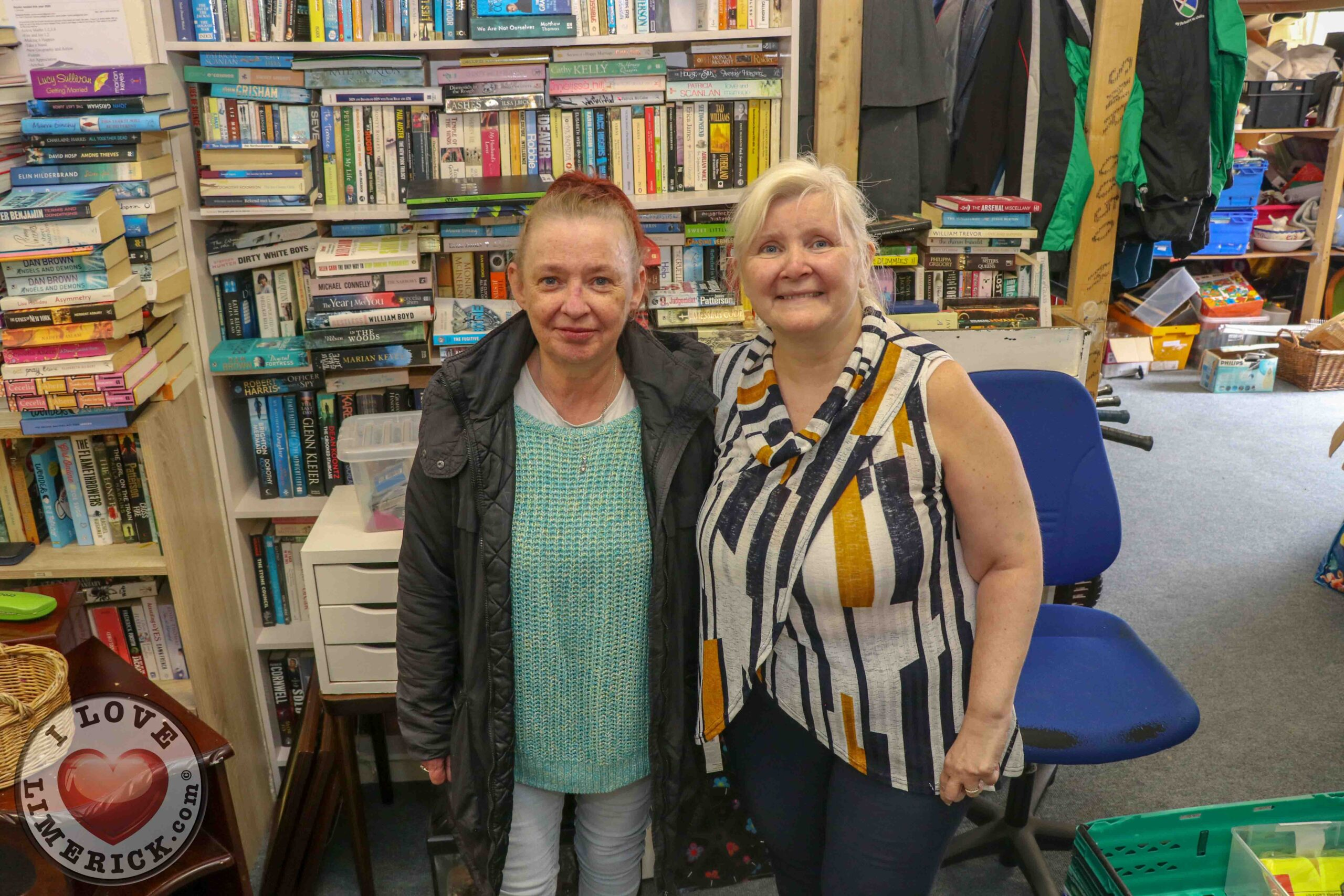 Pictured at Gateway to Education Limerick are Marian Hannafin, Shop Manager and Suzanne Roche, Founder. Picture: Richard Lynch/ilovelimerick