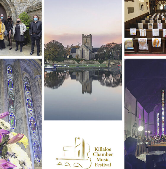 Killaloe Virtual Music Festival 2021 commemorated its 9th Year hosted from St. Flannan's Cathedral celebrating art, music, and culture.