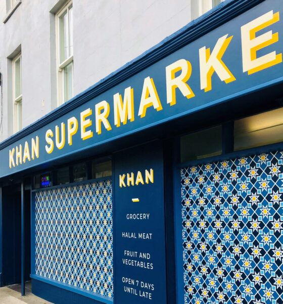Khan Supermarket receives a remarkable makeover by the outstanding decorating company J. Hodkinson and Sons. Picture: Deirdre Power