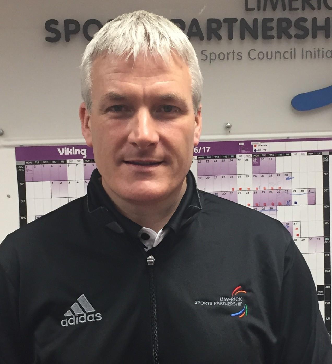 Limerick Sports Partnership Coordinator, Phelim Macken