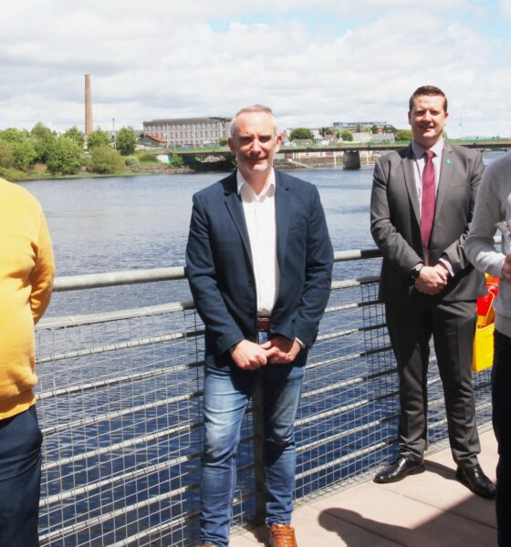 Moyo Nua founder Jack O'Connor (pictured above) won Limerick Person of the Month for June 2021