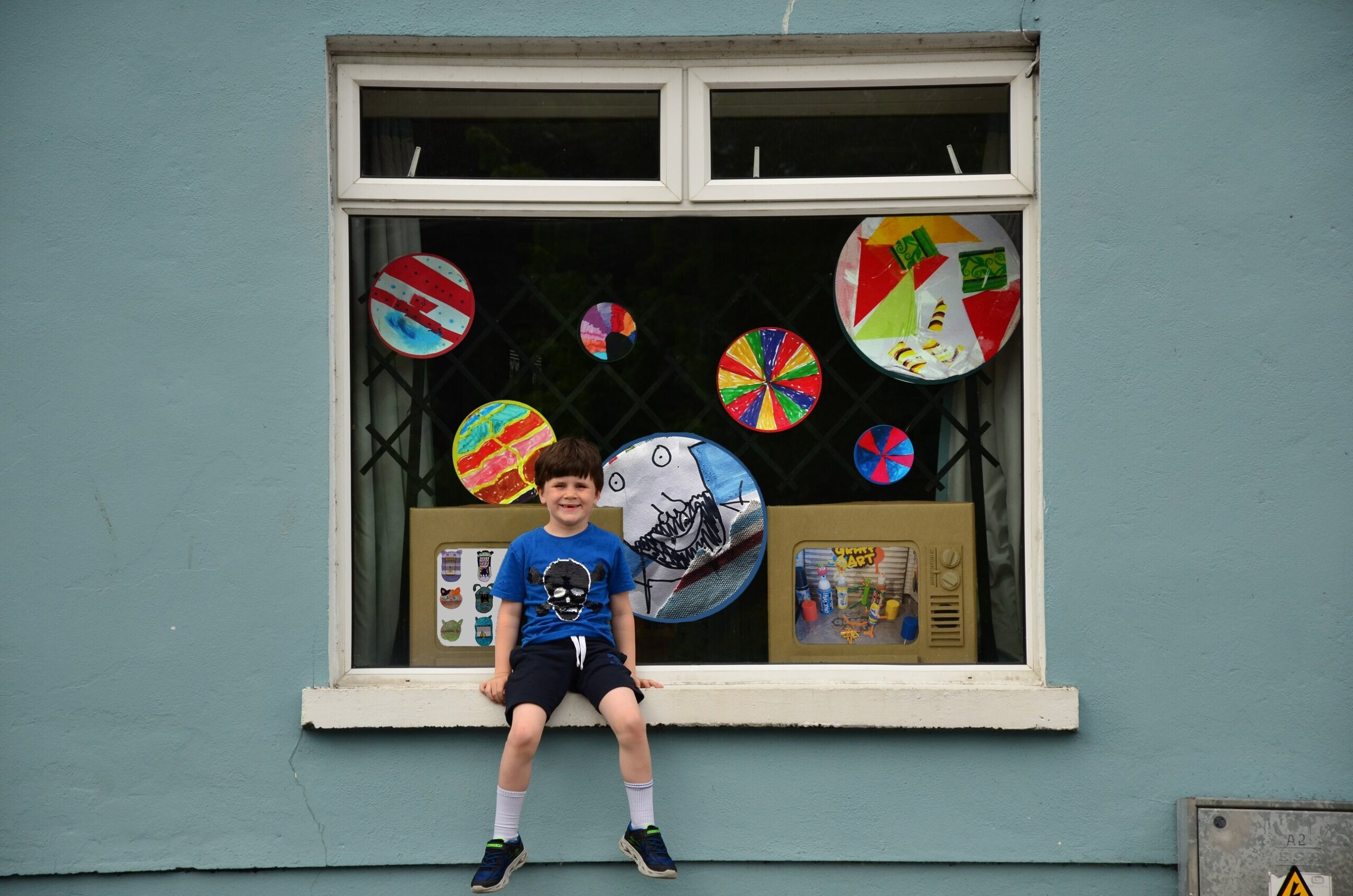 Our World in a Window exhibition launched by Helium Arts is coming to Limerick July 2 - 10 to Silkes Art & Crafts store on Catherine Street.