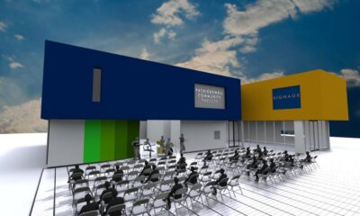 Patrickswell Community Centre will be located on Main Street and will fit 220 people
