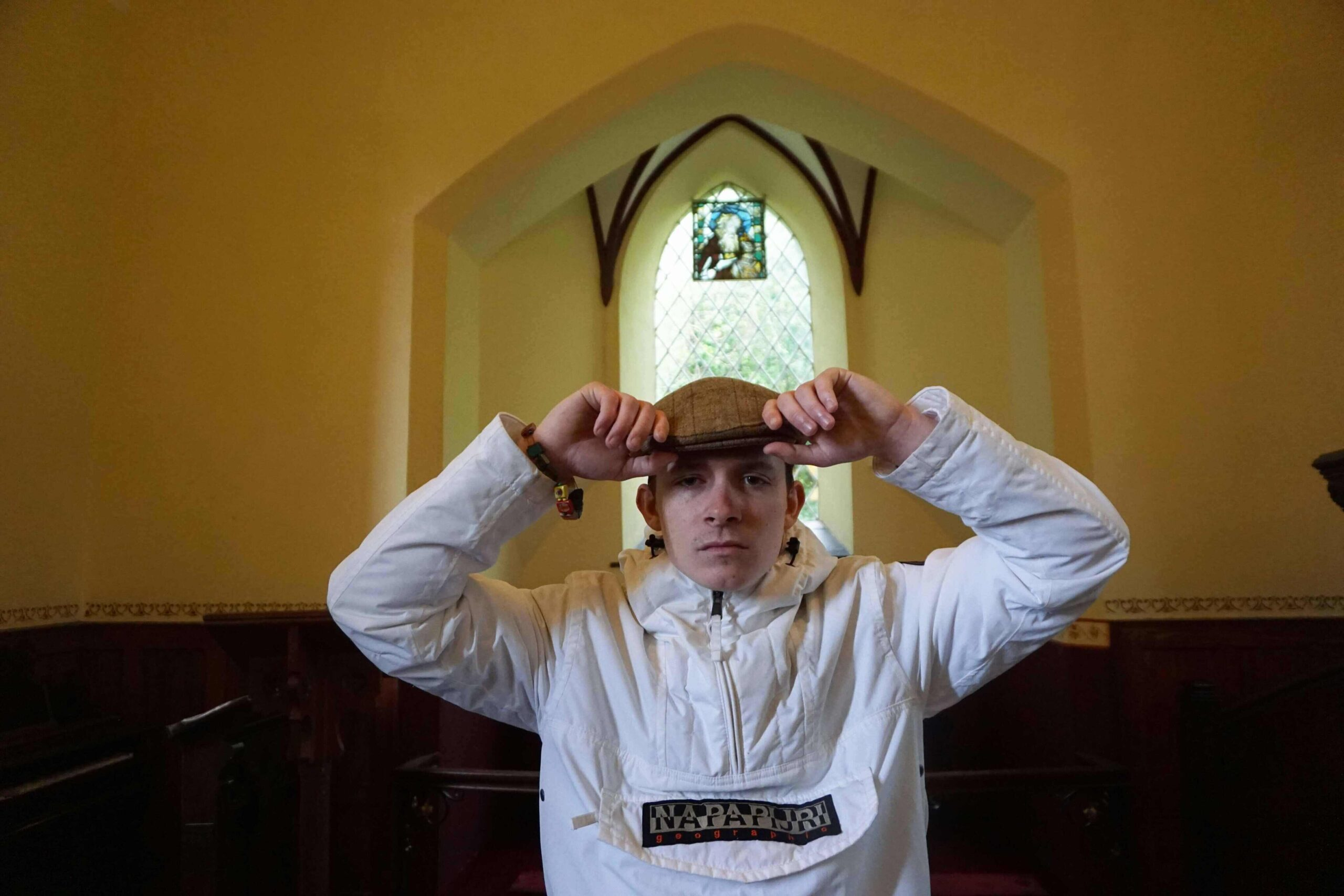 Strange Boy is a 1000-year-old poet channelling through the body of a young man from Limerick