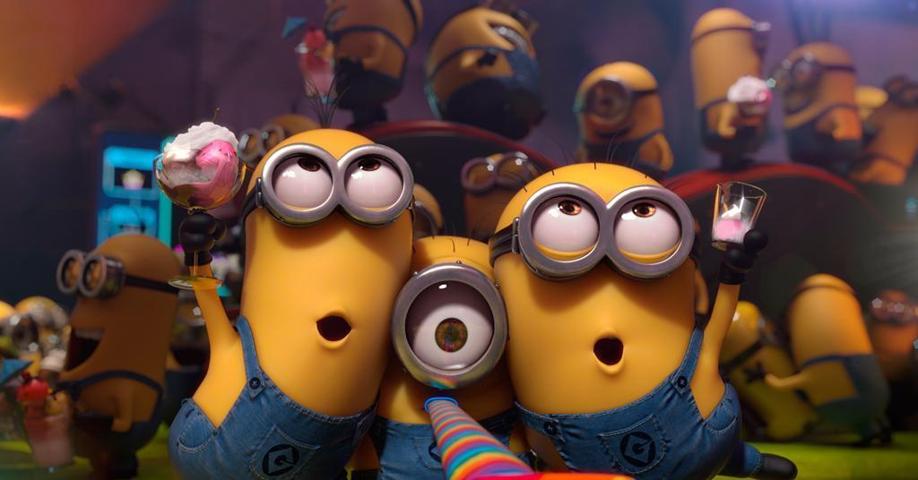 The 'Minions' a universal favourite among other great movies that will feature at the event!