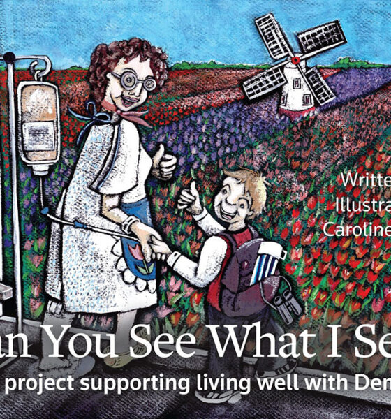 Caroline Hyland - All proceeds from her book 'Can You See What I See?' will go to Living Well With Dementia.