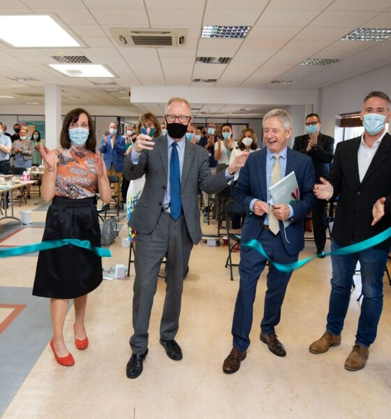 Coolmine Therapeutic Community new day centre was officially opened by Frank Feighan