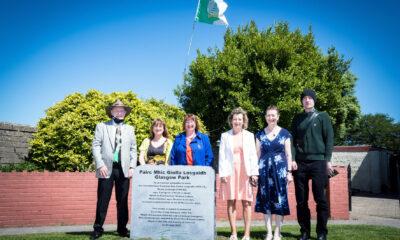 Frank Glasgow memorial
