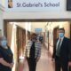 Minister of State Anne Rabbitte received a very warm welcome on her visit to St. Gabriel's School & Centre and was welcomed by Máire O' Leary, CEO