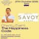 Aidan O Brien brings 'The Happiness Code' to the Savoy Hotel on Wednesday, October 27.