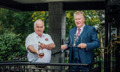 The Blas na hEireann Awards 2021 - Blas na hEireann Awards Maurice Gilbert of Ballyhoura Apple Farm who won Gold. Picture: Brian Arthur