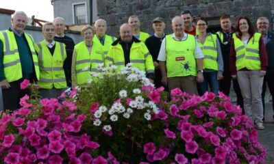 Kilmallock Tidy Towns Reuse Month - pictured above are volunteers who won a bronze award in 2014