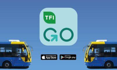 TFI GO APP bus eireann cover